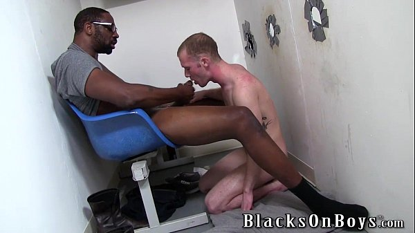 aiden connors ends up riding a black phallus gay black