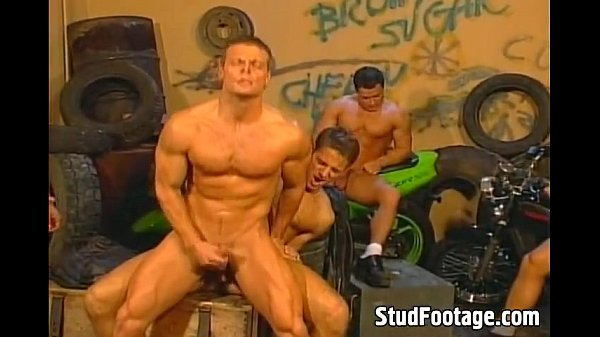 amazing bikers gay gangbang outdoors gay orgy