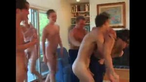 bareback orgy through twinks what a special v gay orgy