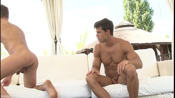 belami schoolboy puts a long vibrator up for pornstar gay