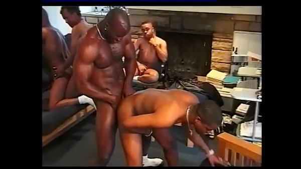 black studs possess sexy group sex gay black