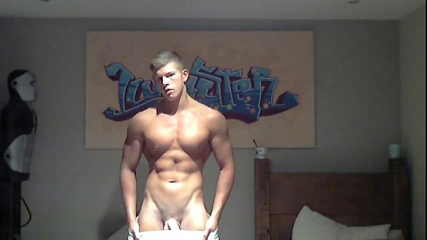 blonde muscle jock shows very crazy super lov muscle gay