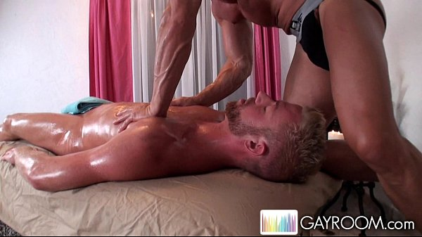 nice gluteus massage that's too much to swall massage gay