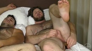 marcelo and blaze double fur dildos bear gay