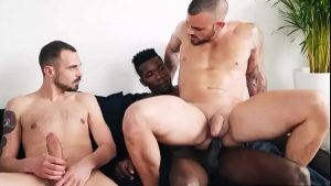 gay bitch gets destroyed by two giant penis b big dick gay