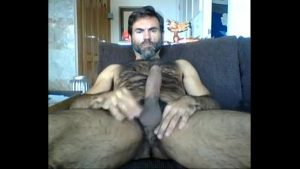 savory hairy father cumming beautiful thing w bear gay