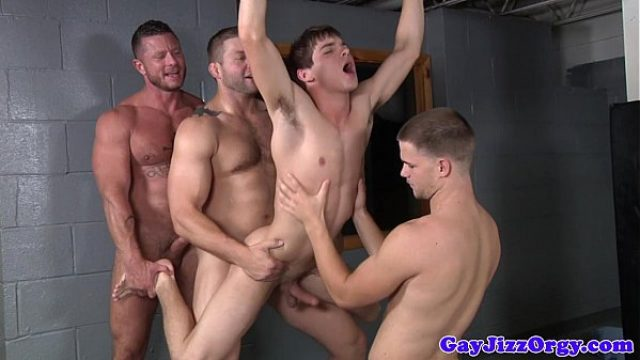 prison orgy baton in johnny rapids butt gay orgy