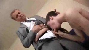 twink pumps his mature boss at service twink gay