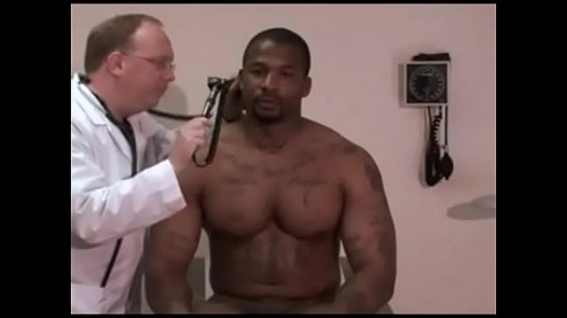 male physical examination black parolee gay black