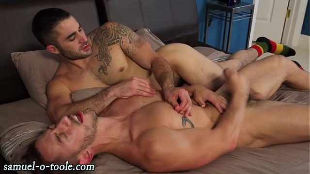 sturdy pornstar cums on hunk very affine to g pornstar gay