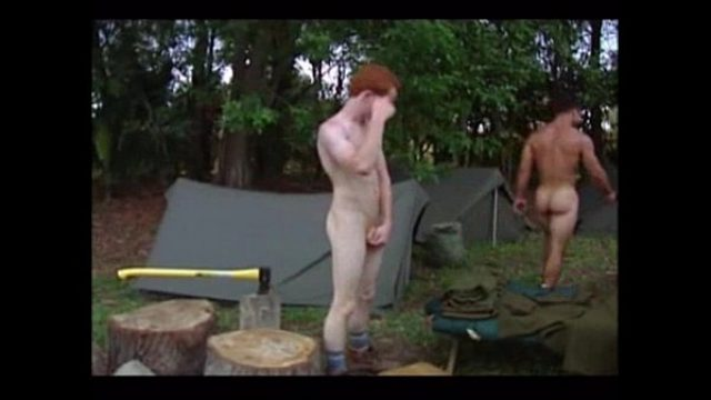 sexo no camping super yummy super crazy gay redhead