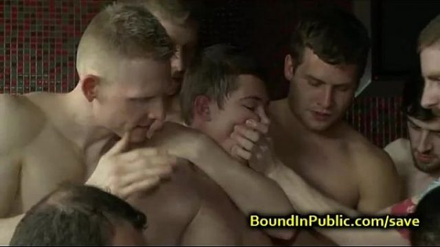 gay cheek poked and pissed in local bar fetish gay