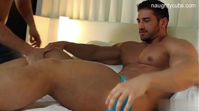 sexy father handjob cum shot catching hot tha daddy gay