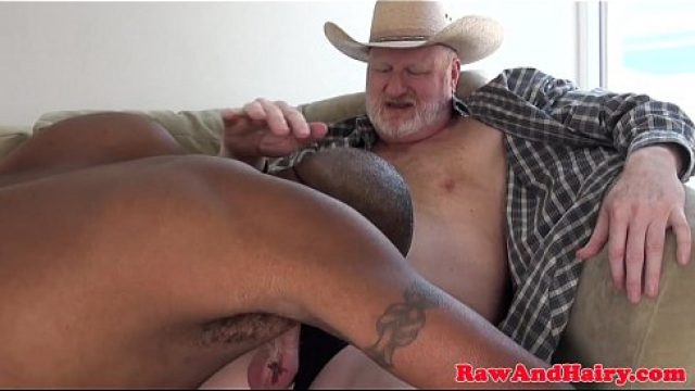 Bear Gay black hunk coitus silver phallus raw