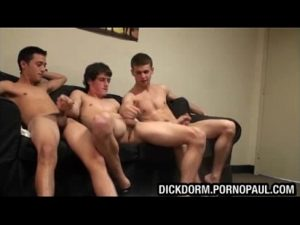 College Gay college dudes jerking every other fat