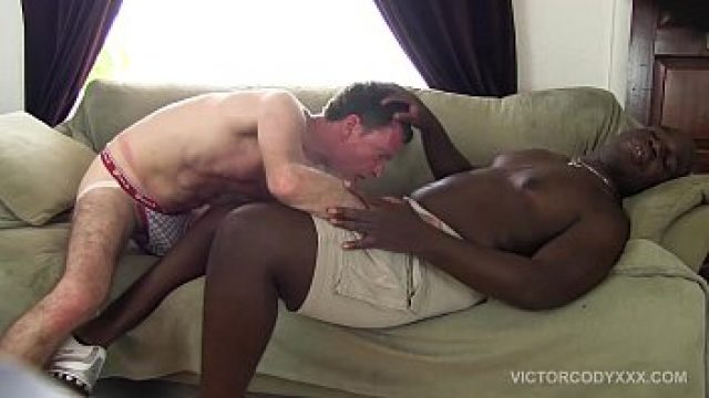 Interracial Gay bareback nails and jagger
