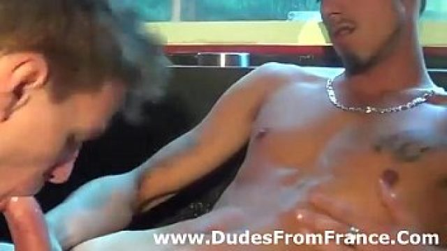 Blowjob Gay delicious french dudes in cock sucking moment