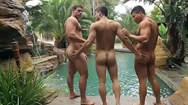 threesome gay dante threesome pump feeling horny what perfect