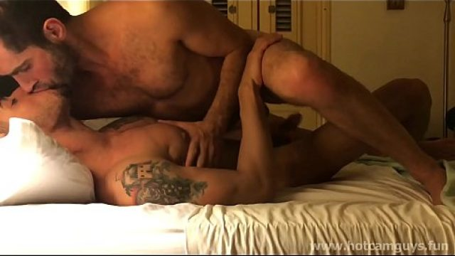 Gay Amateur hunks possessing hot foreplay