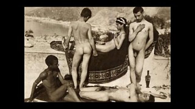 Vintage Gay erotic art von von