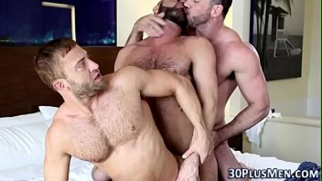 threesome gay strong bears screw  how exciting with pleasure hd