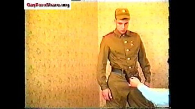 Vintage Gay army very love fuck off
